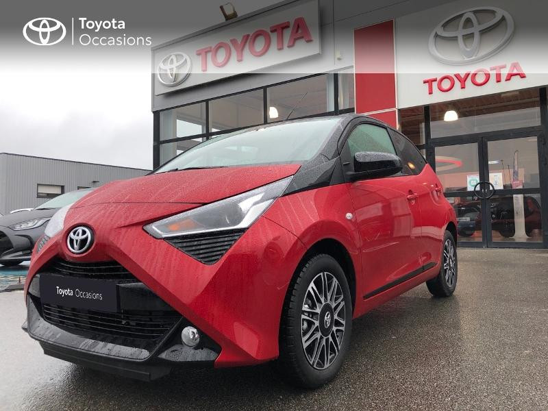 Photo 25 de l'offre de TOYOTA Aygo 1.0 VVT-i 72ch x-clusiv 5p MY20 à 13490€ chez Altis - Toyota Pontivy