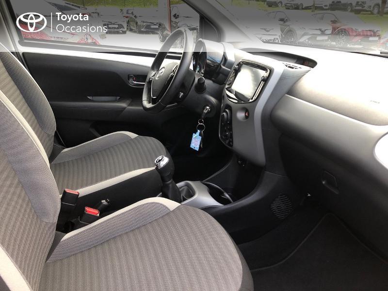 Photo 6 de l'offre de TOYOTA Aygo 1.0 VVT-i 72ch x-play x-app 5p à 9490€ chez Altis - Toyota Pontivy