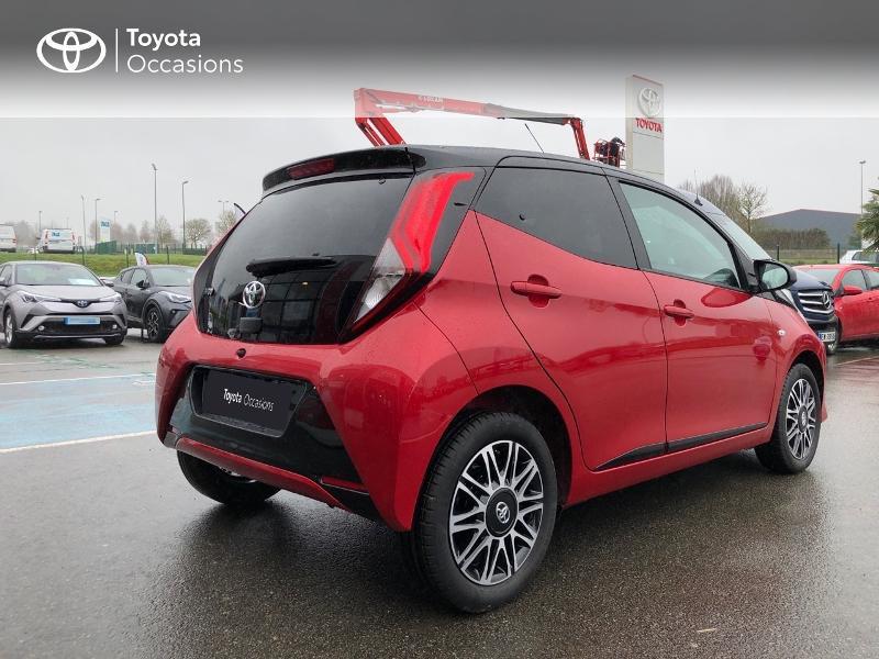 Photo 22 de l'offre de TOYOTA Aygo 1.0 VVT-i 72ch x-clusiv 5p MY20 à 13490€ chez Altis - Toyota Pontivy
