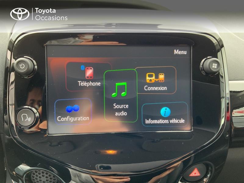 Photo 17 de l'offre de TOYOTA Aygo 1.0 VVT-i 72ch x-clusiv 5p MY20 à 11890€ chez Altis - Toyota Pontivy