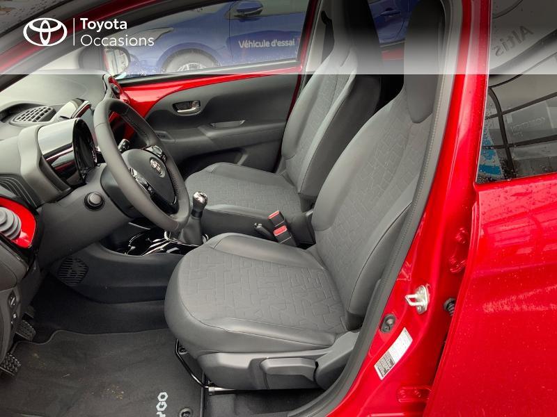 Photo 13 de l'offre de TOYOTA Aygo 1.0 VVT-i 72ch x-clusiv 5p MY20 à 11890€ chez Altis - Toyota Pontivy