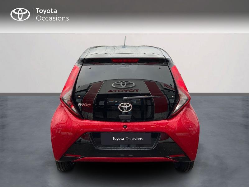 Photo 6 de l'offre de TOYOTA Aygo 1.0 VVT-i 72ch x-clusiv 5p MY20 à 11890€ chez Altis - Toyota Pontivy