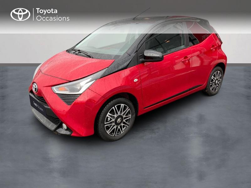 Photo 1 de l'offre de TOYOTA Aygo 1.0 VVT-i 72ch x-clusiv 5p MY20 à 11890€ chez Altis - Toyota Pontivy