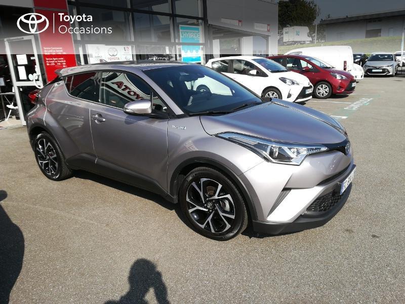Photo 16 de l'offre de TOYOTA C-HR 122h Edition 2WD E-CVT RC18 à 20490€ chez Altis - Toyota Pontivy