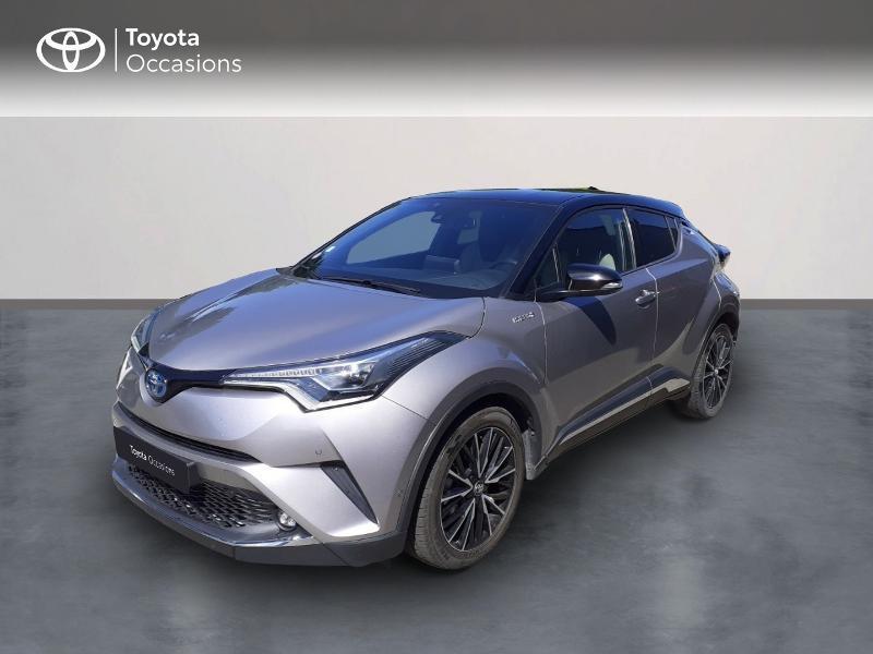 Toyota C-HR 122h Collection 2WD E-CVT Hybride gris platinium bi-ton Occasion à vendre