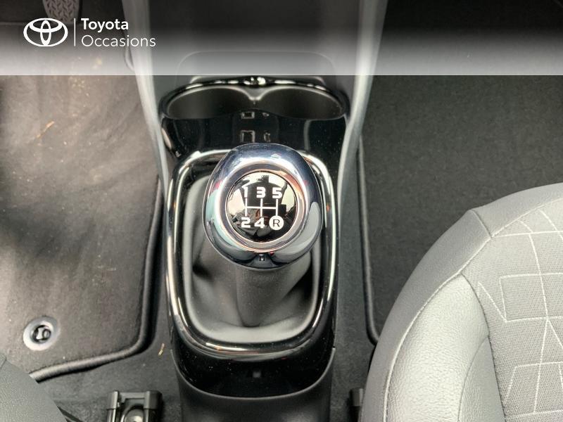 Photo 21 de l'offre de TOYOTA Aygo 1.0 VVT-i 72ch x-clusiv 5p MY20 à 11890€ chez Altis - Toyota Pontivy