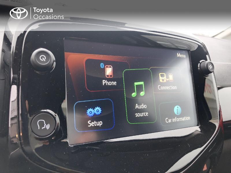 Photo 13 de l'offre de TOYOTA Aygo 1.0 VVT-i 72ch x-clusiv 5p MY20 à 13490€ chez Altis - Toyota Pontivy