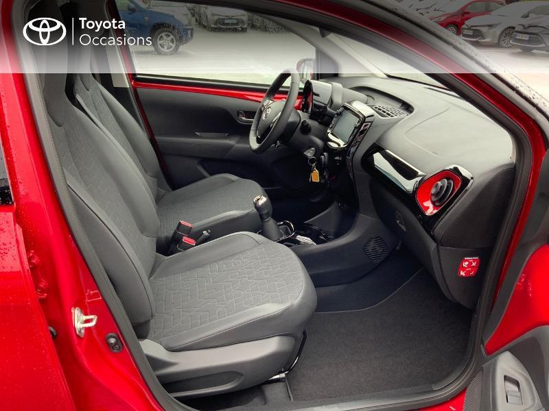 Photo 8 de l'offre de TOYOTA Aygo 1.0 VVT-i 72ch x-clusiv 5p MY20 à 11890€ chez Altis - Toyota Pontivy