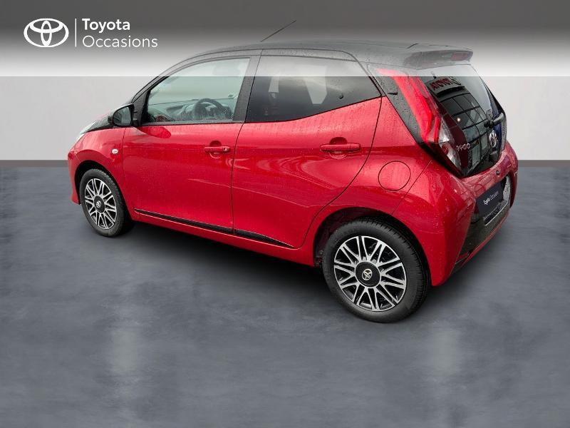 Photo 5 de l'offre de TOYOTA Aygo 1.0 VVT-i 72ch x-clusiv 5p MY20 à 11890€ chez Altis - Toyota Pontivy