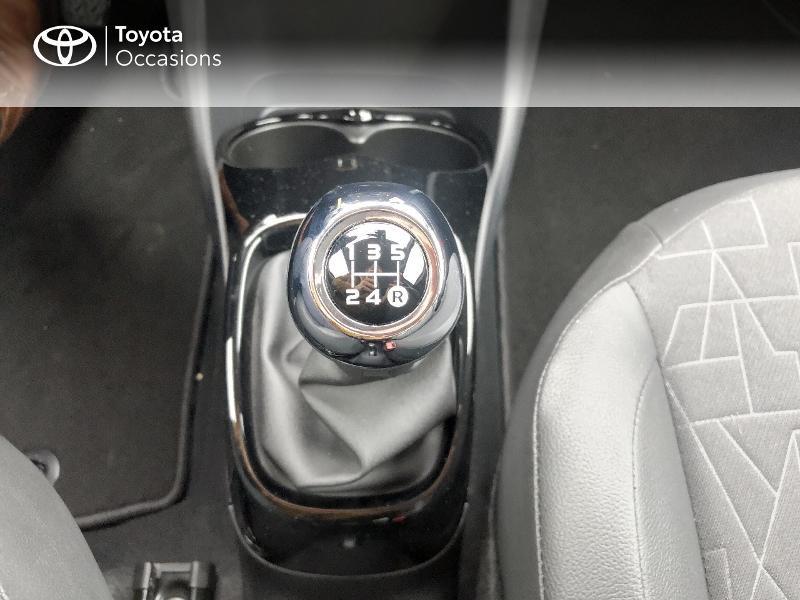 Photo 15 de l'offre de TOYOTA Aygo 1.0 VVT-i 72ch x-clusiv 5p MY20 à 13490€ chez Altis - Toyota Pontivy