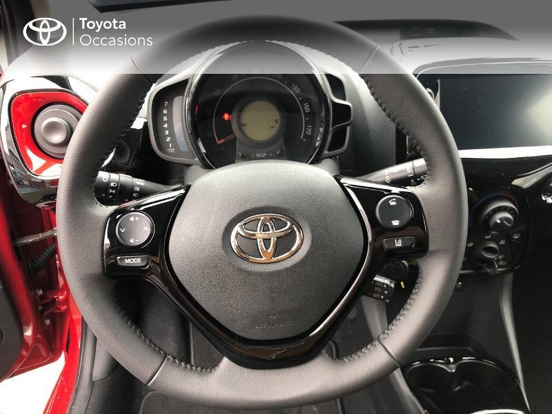 Photo 9 de l'offre de TOYOTA Aygo 1.0 VVT-i 72ch x-clusiv 5p MY20 à 13490€ chez Altis - Toyota Pontivy