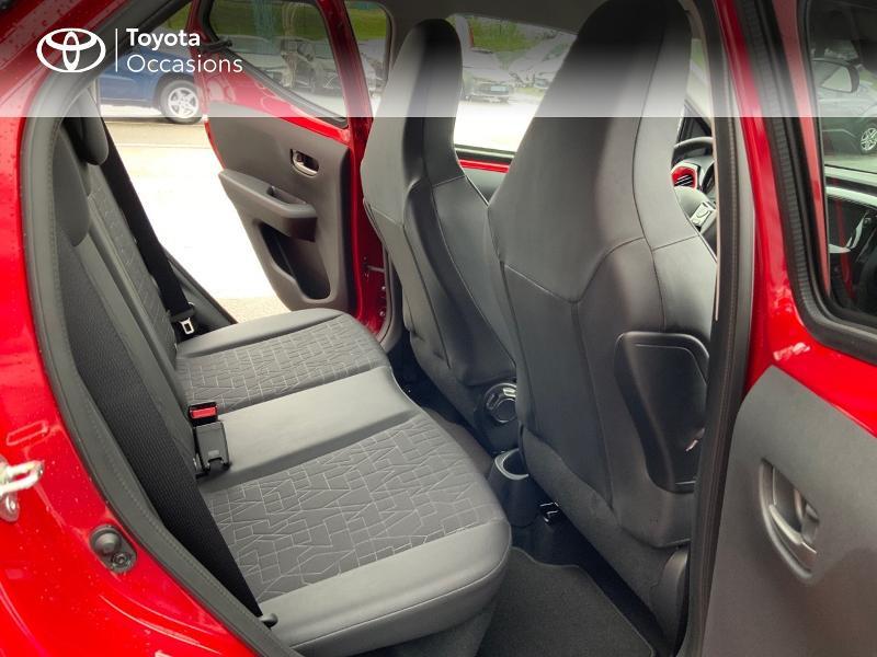 Photo 9 de l'offre de TOYOTA Aygo 1.0 VVT-i 72ch x-clusiv 5p MY20 à 11890€ chez Altis - Toyota Pontivy