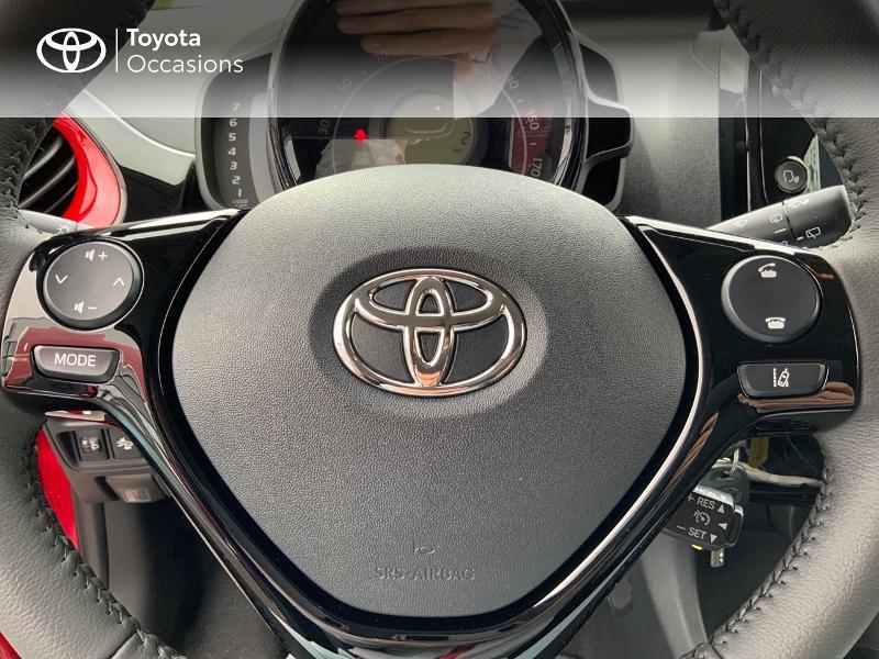 Photo 19 de l'offre de TOYOTA Aygo 1.0 VVT-i 72ch x-clusiv 5p MY20 à 11890€ chez Altis - Toyota Pontivy