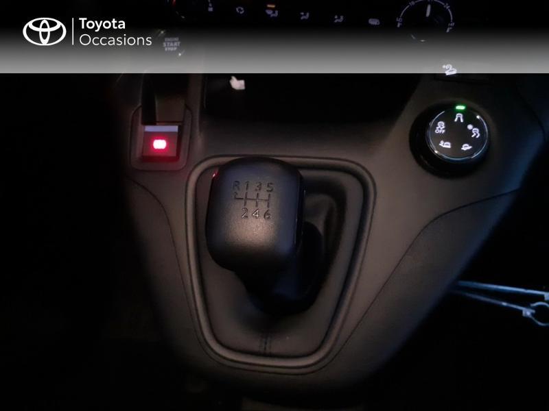 Photo 18 de l'offre de TOYOTA PROACE CITY Medium 130 D-4D Business à 23290€ chez Altis - Toyota Pontivy