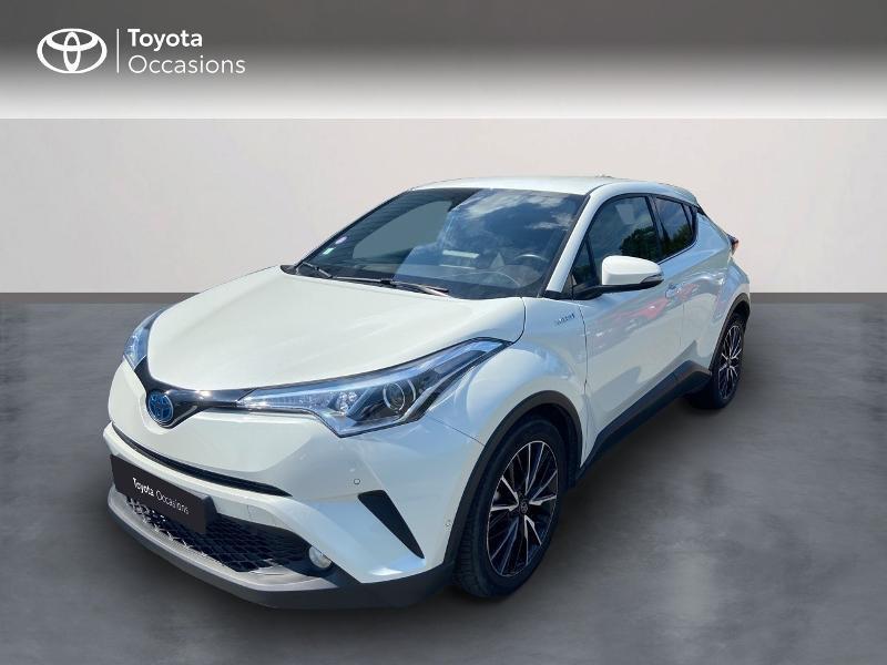 Toyota C-HR 122h Distinctive 2WD E-CVT Hybride BLANC NACRE Occasion à vendre