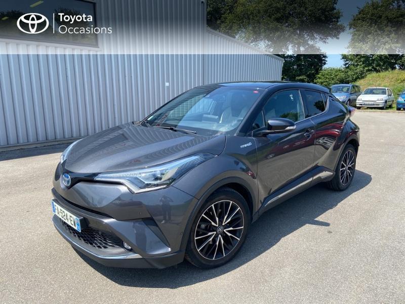 Toyota C-HR 122h Collection 2WD E-CVT Hybride GRIS ATLAS METAL Occasion à vendre