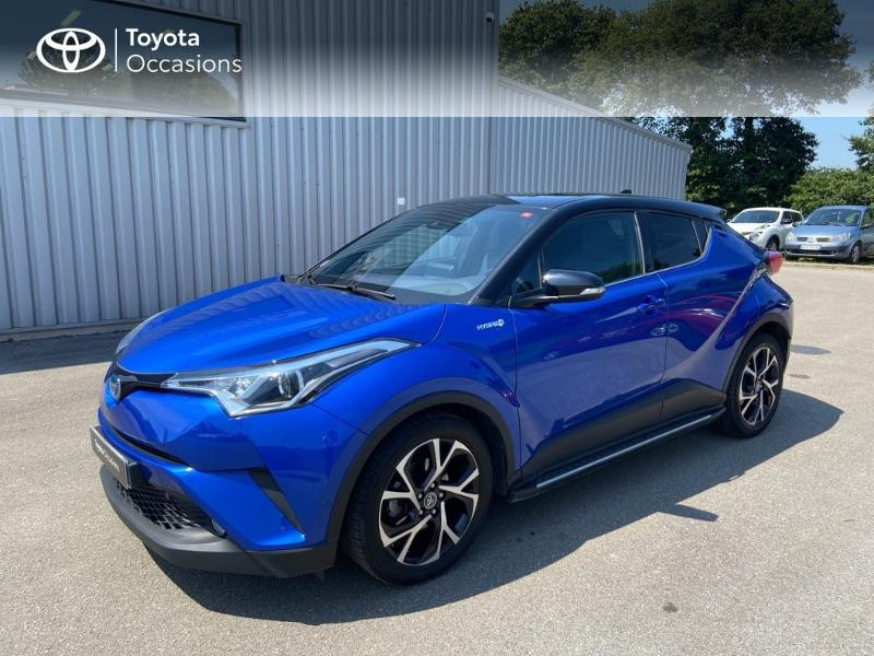 Toyota C-HR 122h Graphic 2WD E-CVT Hybride Bleu Nebula Occasion à vendre