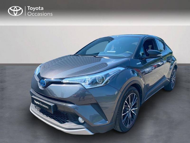 Toyota C-HR 122h Graphic 2WD E-CVT Hybride BI TON GRIS Occasion à vendre