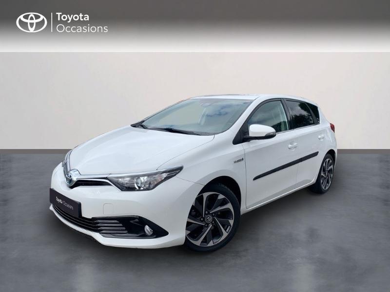 Toyota Auris HSD 136h TechnoLine Hybride BLANC PUR Occasion à vendre