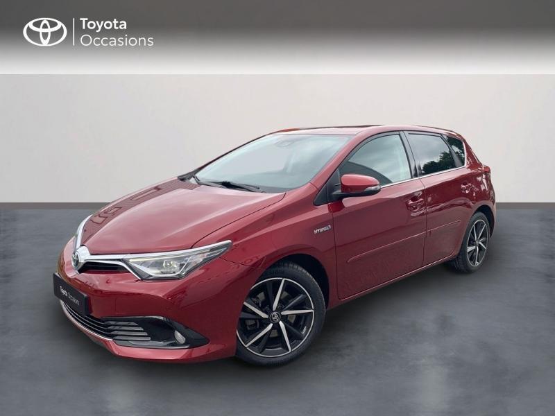 Toyota Auris HSD 136h Lounge Hybride rouge allure Occasion à vendre