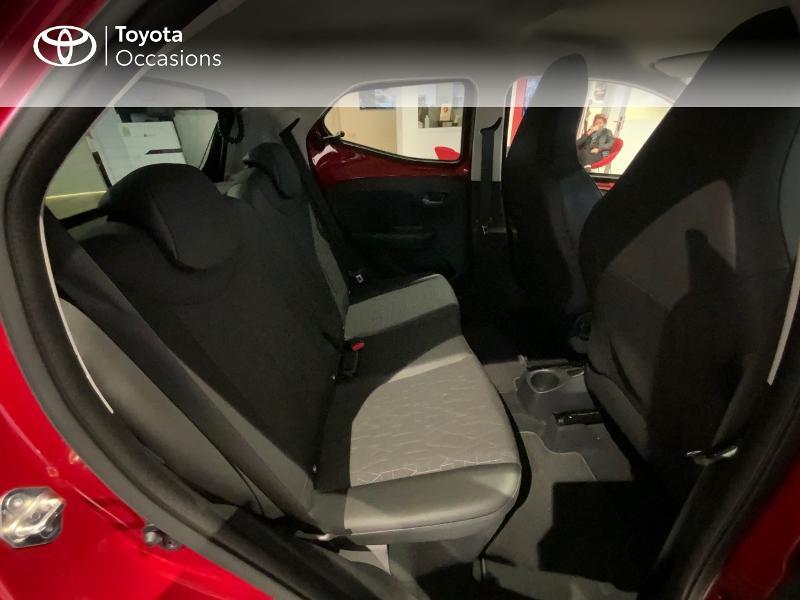 Photo 7 de l'offre de TOYOTA Aygo 1.0 VVT-i 72ch x-clusiv 5p MY20 à 13440€ chez Altis - Toyota Auray