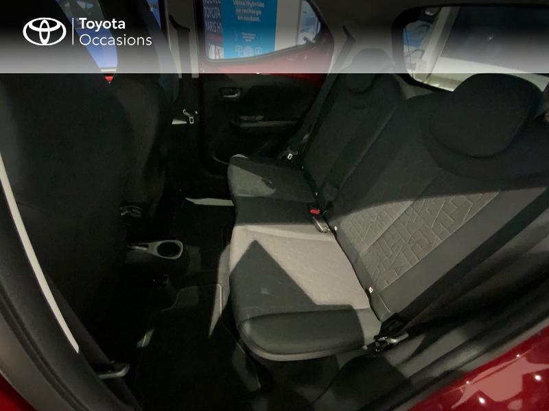 Photo 12 de l'offre de TOYOTA Aygo 1.0 VVT-i 72ch x-clusiv 5p MY20 à 13440€ chez Altis - Toyota Auray