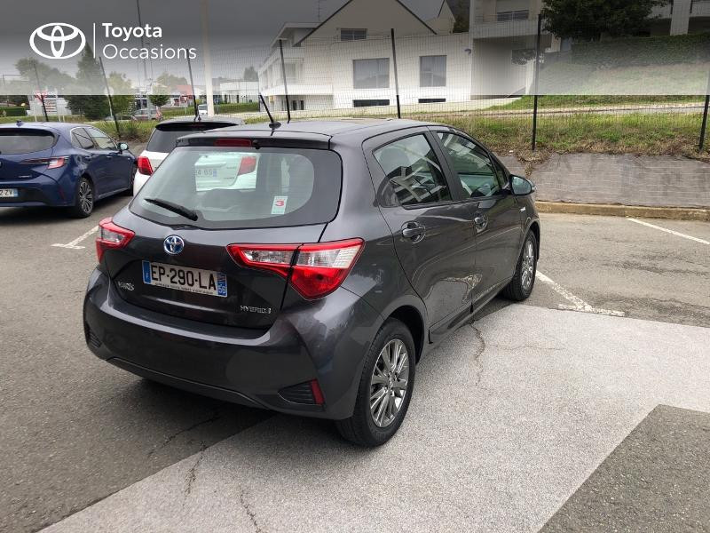 Photo 16 de l'offre de TOYOTA Yaris 100h Dynamic 5p à 13990€ chez Altis - Toyota Auray