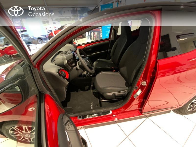 Photo 11 de l'offre de TOYOTA Aygo 1.0 VVT-i 72ch x-clusiv 5p MY20 à 13440€ chez Altis - Toyota Auray