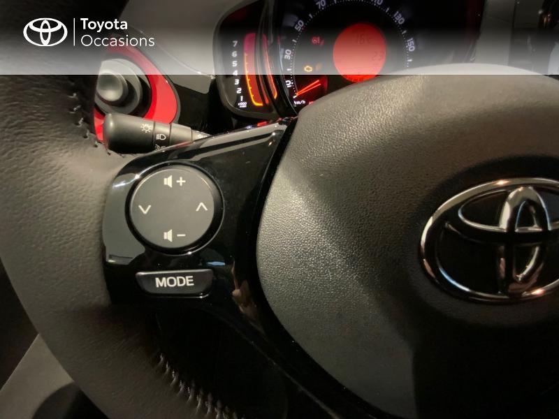 Photo 20 de l'offre de TOYOTA Aygo 1.0 VVT-i 72ch x-clusiv 5p MY20 à 13440€ chez Altis - Toyota Auray
