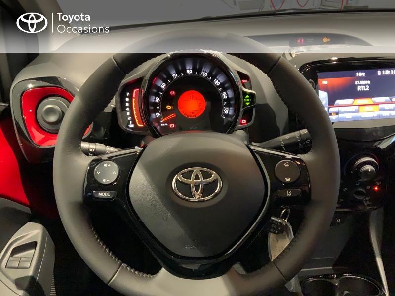 Photo 13 de l'offre de TOYOTA Aygo 1.0 VVT-i 72ch x-clusiv 5p MY20 à 13440€ chez Altis - Toyota Auray