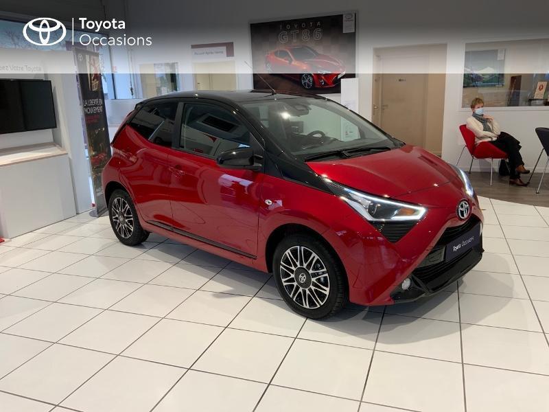 Photo 19 de l'offre de TOYOTA Aygo 1.0 VVT-i 72ch x-clusiv 5p MY20 à 13440€ chez Altis - Toyota Auray