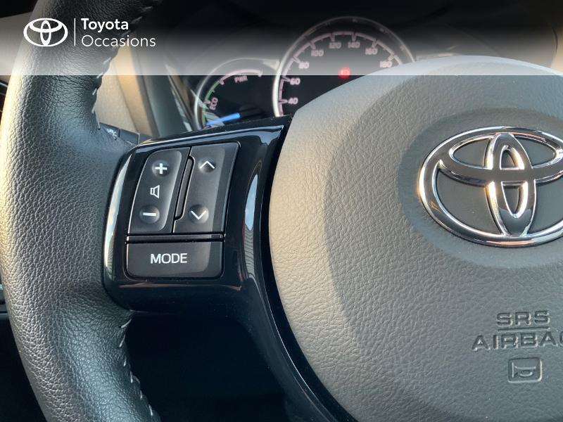 Photo 20 de l'offre de TOYOTA Yaris 100h France 5p à 14840€ chez Altis - Toyota Auray