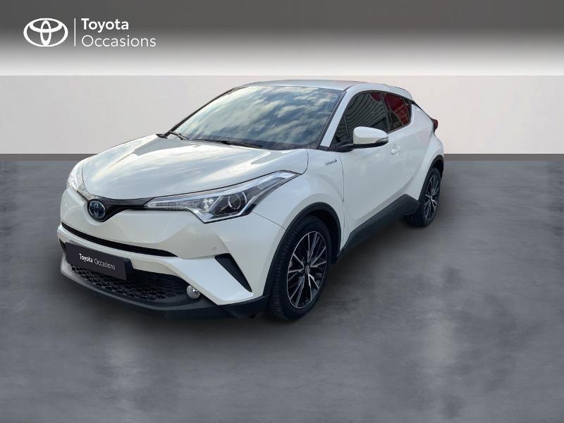 Toyota C-HR 122h Edition 2WD E-CVT RC18 Hybride BLANC NACRE Occasion à vendre
