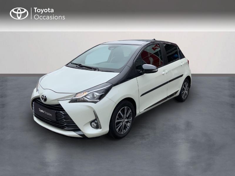 Toyota Yaris 110 VVT-i Design Y20 CVT 5p RC19 Essence BI-TON BLANC NACRE Occasion à vendre