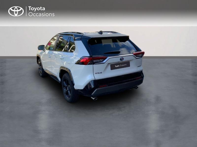 Photo 2 de l'offre de TOYOTA RAV4 Hybride 218ch Collection 2WD à 37980€ chez Altis - Toyota Auray