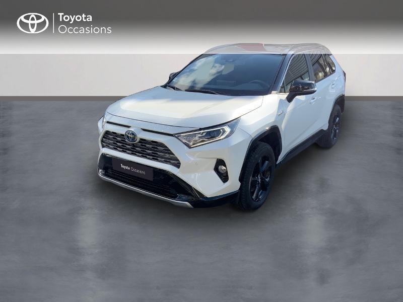 Photo 1 de l'offre de TOYOTA RAV4 Hybride 218ch Collection 2WD à 37980€ chez Altis - Toyota Auray