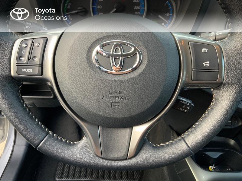 Photo 10 de l'offre de TOYOTA Yaris HSD 100h Dynamic 5p à 13660€ chez Altis - Toyota Auray