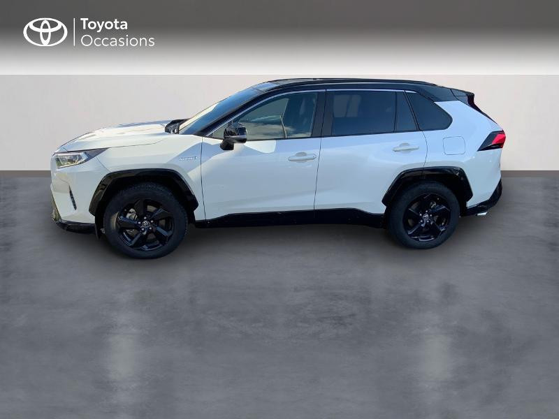Photo 3 de l'offre de TOYOTA RAV4 Hybride 218ch Collection 2WD à 37980€ chez Altis - Toyota Auray
