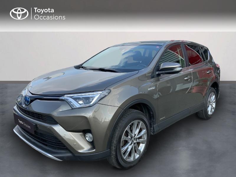 Toyota RAV4 197 Hybride Dynamic Edition 2WD CVT Hybride BRONZE Occasion à vendre