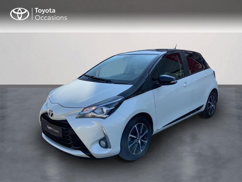 Toyota Yaris 110 VVT-i Design CVT 5p Essence BLANC NACRE Occasion à vendre