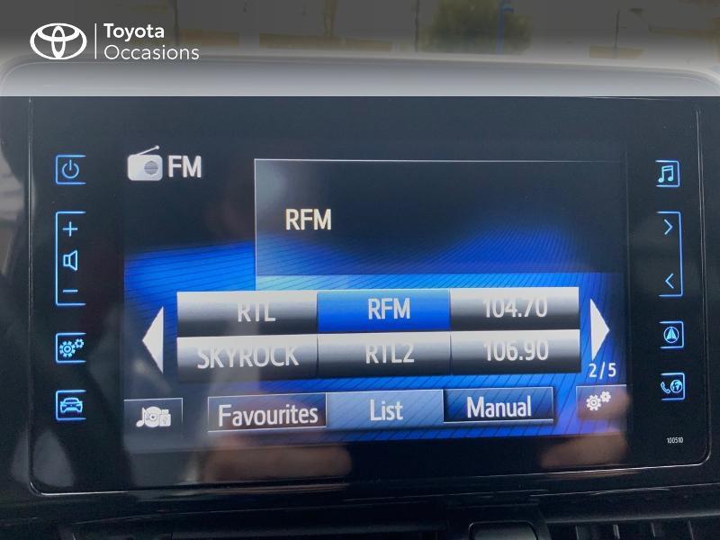 Photo 15 de l'offre de TOYOTA C-HR 122h Graphic 2WD E-CVT RC18 à 22690€ chez Altis - Toyota Auray