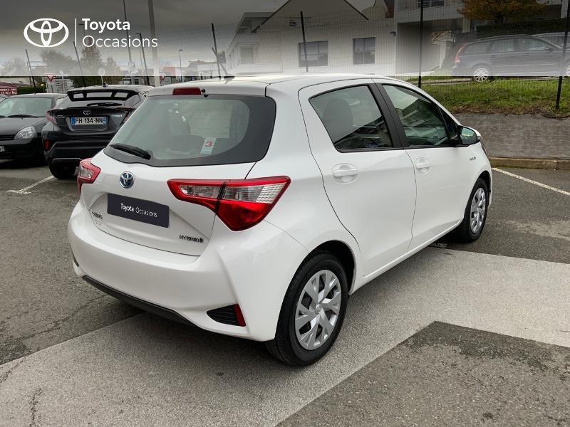 Photo 18 de l'offre de TOYOTA Yaris 100h France 5p à 11990€ chez Altis - Toyota Auray