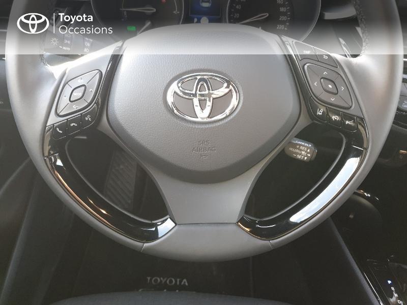 Photo 10 de l'offre de TOYOTA C-HR 122h Edition 2WD E-CVT RC18 à 21830€ chez Altis - Toyota Auray