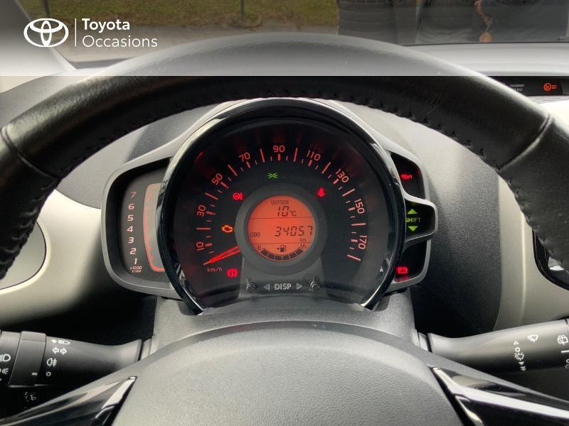 Photo 14 de l'offre de TOYOTA Aygo 1.0 VVT-i 69ch x-play 5p à 8890€ chez Altis - Toyota Auray