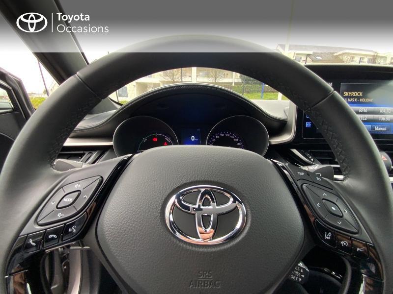 Photo 13 de l'offre de TOYOTA C-HR 122h Graphic 2WD E-CVT RC18 à 22690€ chez Altis - Toyota Auray