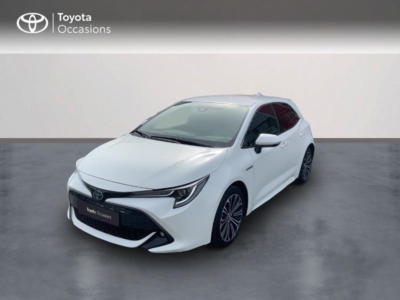 Toyota Corolla 184h Design MY19 Hybride BLANC PUR Occasion à vendre