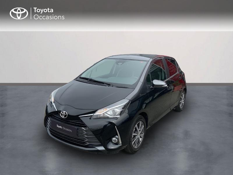 Toyota Yaris 70 VVT-i Design Y20 5p MY19 Essence bi-ton Toit Gris Atlas Occasion à vendre