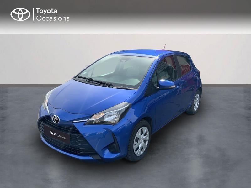Toyota Yaris 110 VVT-i France 5p Essence BLEU NEBULA Occasion à vendre