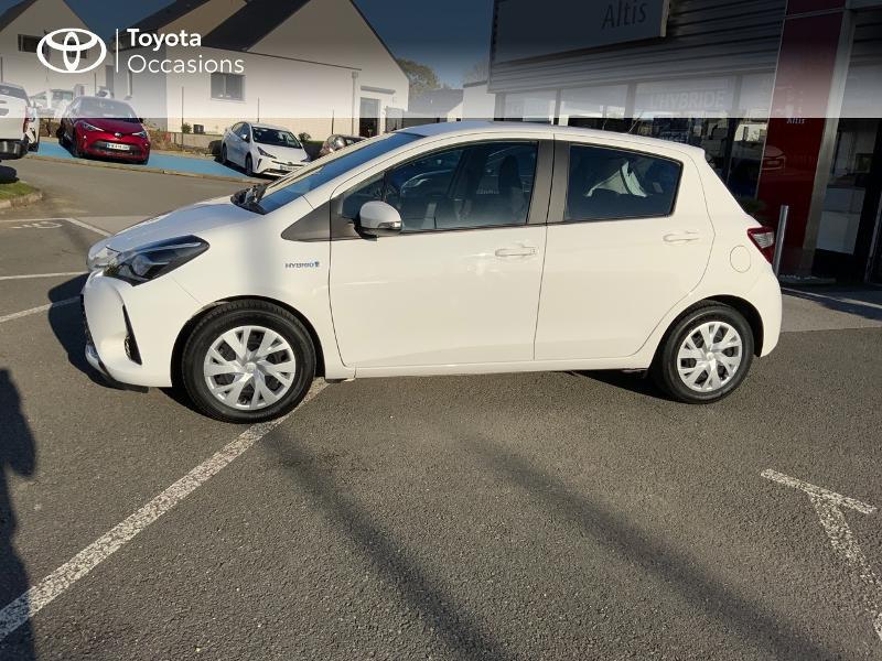 Photo 22 de l'offre de TOYOTA Yaris 100h France 5p à 11980€ chez Altis - Toyota Auray