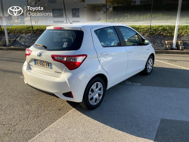 Photo 16 de l'offre de TOYOTA Yaris 100h France 5p à 11980€ chez Altis - Toyota Auray
